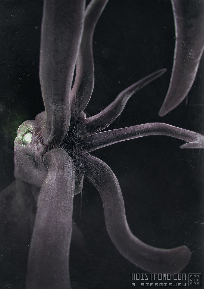 Tentacled Monster by noistromo
