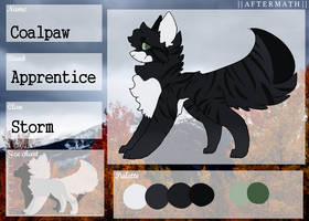 Coalpaw || Stormclan Apprentice || Aftermath by PastelRaine