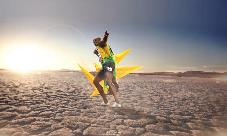 Usain Bolt Wallpaper Ft Skill