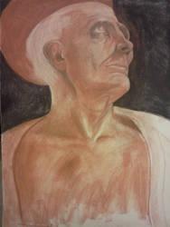 St. Jerome, Chalk copy by TehCarbonMonkey