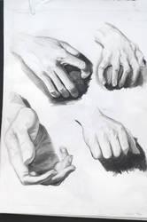 Hands by TehCarbonMonkey