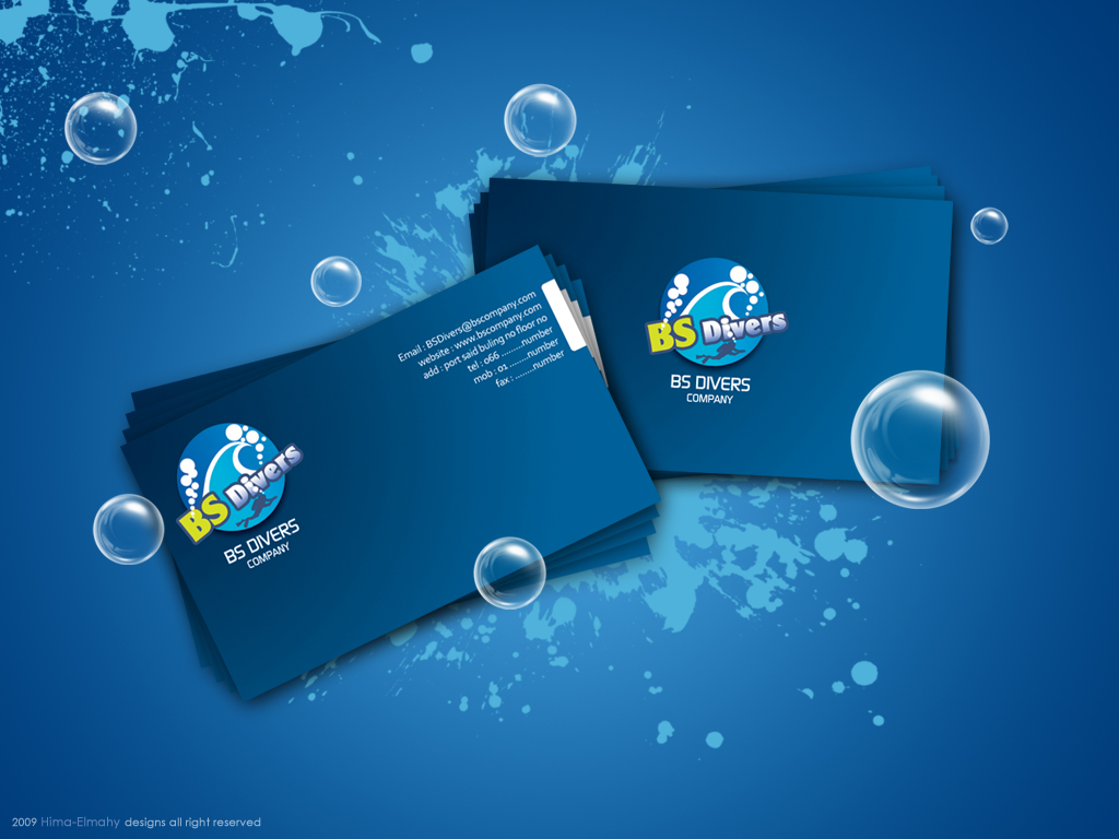 BS DIVERS BUSINESS CARD by jooyousef
