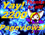 2200 Pageviews by Christin-Cat-Bat
