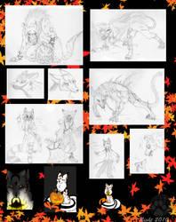 Happy Halloween 2010 by NightTwilightWolf