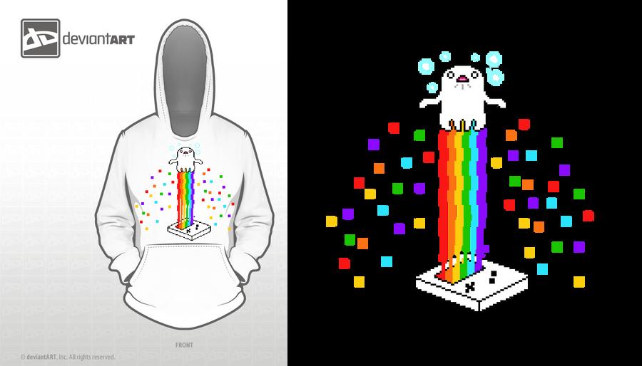 Ghost Rainbow - 8-bit Design Challenge by Natsu714