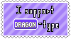 Dragon-Type Support Stamp by Natsu714