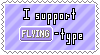 Flying-Type Support Stamp by Natsu714
