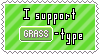 Grass-Type Support Stamp by Natsu714