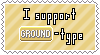 Ground-Type Support Stamp by Natsu714