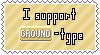 Ground-Type Support Stamp by Natsu714
