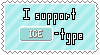Ice-Type Support Stamp by Natsu714