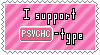 Psychic-Type Support Stamp by Natsu714