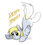 Sketchy Derpy T-shirt