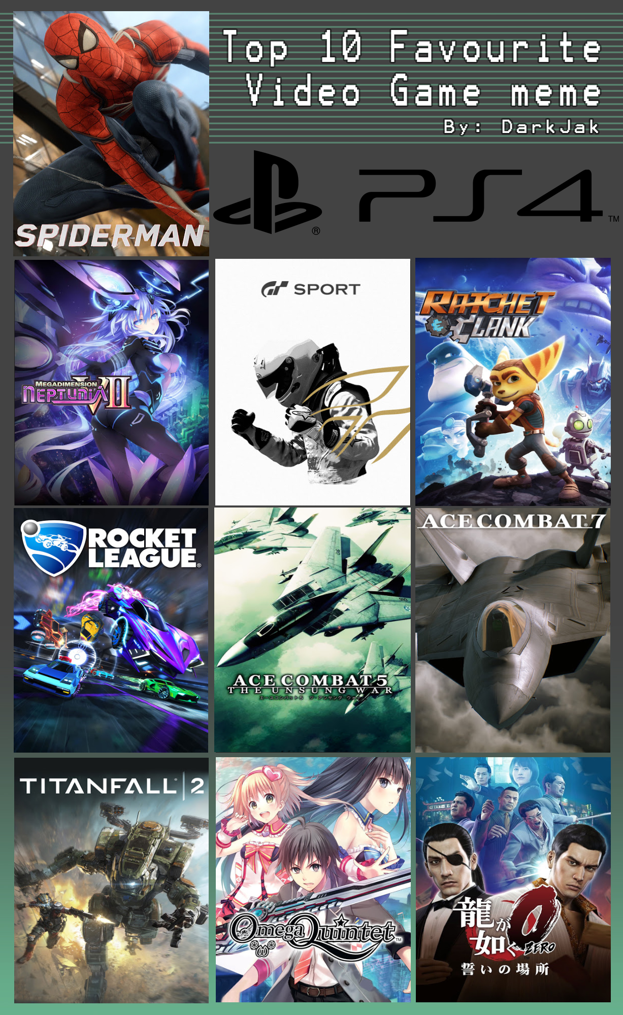 My Top 10 PlayStation 4 (PS4) Games by ...