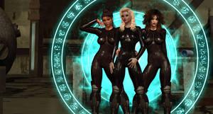 The Girls of XXX by almeidap