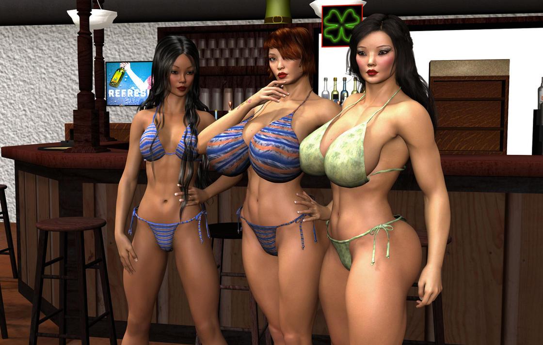 Sapphic erotica three way
