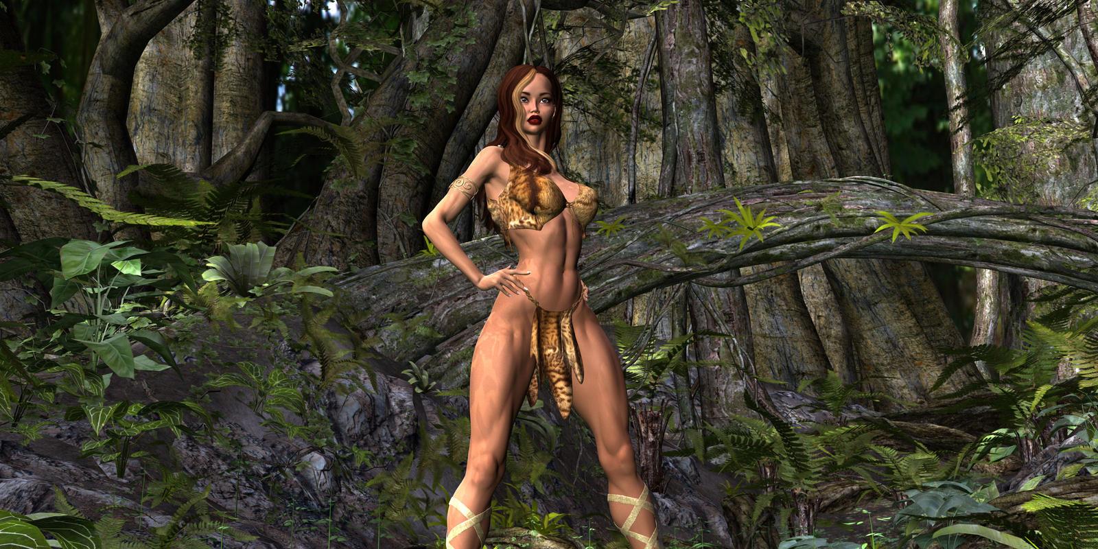 Ženski Fantasy Catfight Art-1149
