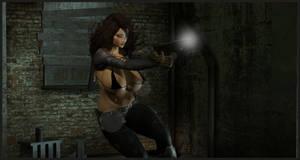 Girls With Gunz :  Bing by almeidap