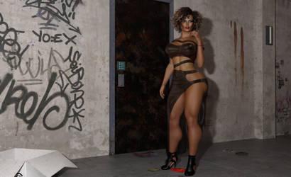 Nicole Mendez-Williams : Tweaking by almeidap