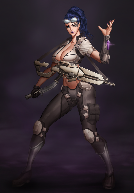 overwatch - Widowmaker Talon by boom19940803