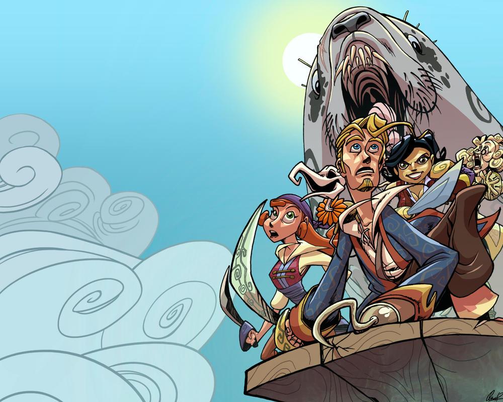 Tales of Monkey Island Wallpaper by Ovi-One