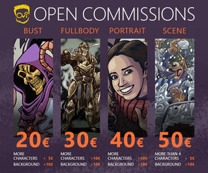 OPEN COMMISSIONS by Ovi-One