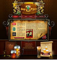 Beer web template by S-quill