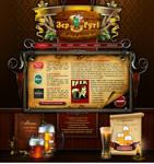 Beer web template