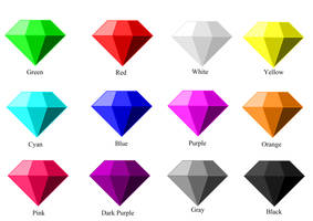 The Chaos Emeralds by Connor-the-writer