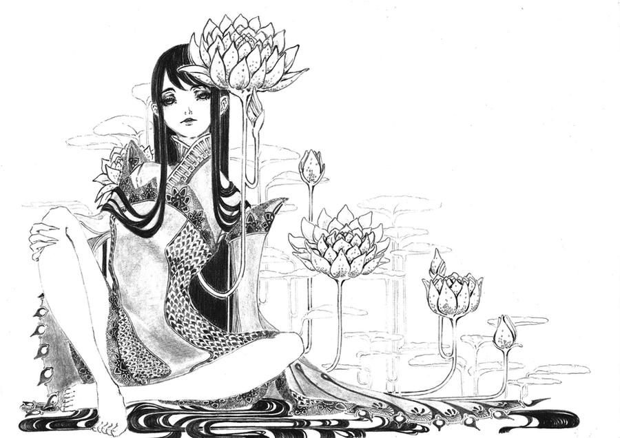 Lotus by marjohram