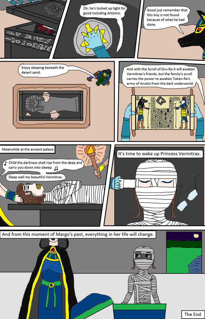 Margo\'s friends mummified by ancient spirits pt 6 by PeteDRaptor on ...