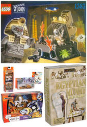 Mummy toys and sets by PeteDRaptor