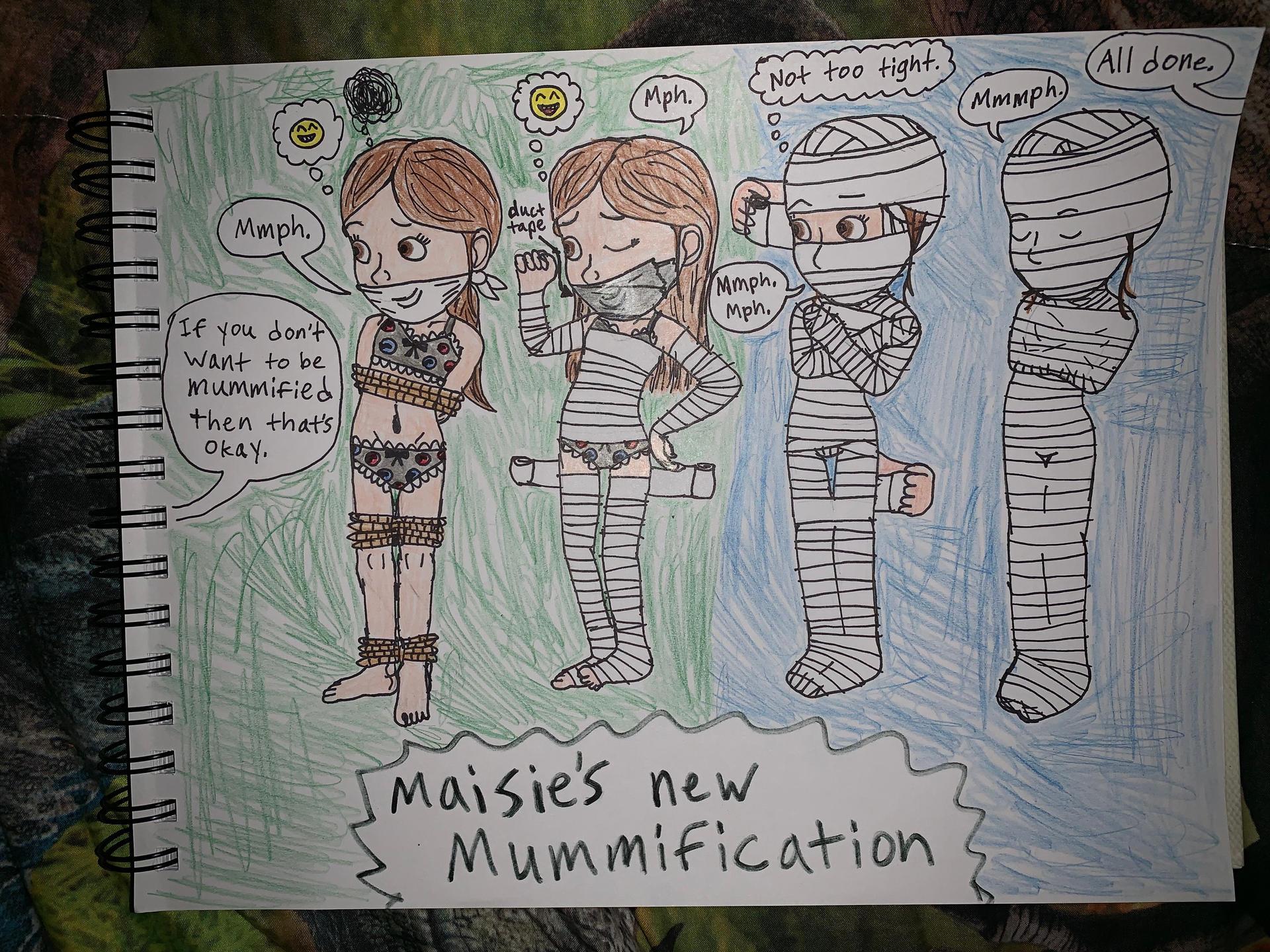 Maisie's Mummification 2 by PeteDRaptor on DeviantArt