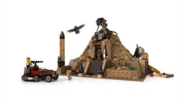 LEGO Scorpion Pyramid
