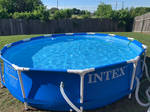Behold, my swimming pool