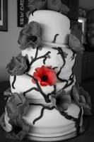 Wedding cake by Miss-Amanduh