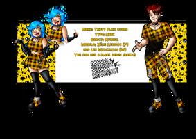 SRA - Trippy Plaid coord
