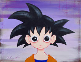 Goku by TetraModal