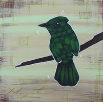 Green Bird by TetraModal