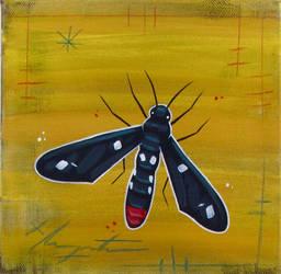 Polka-Dot Wasp Moth by TetraModal