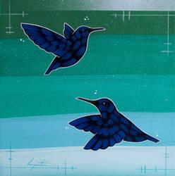 Hummingbirds by TetraModal