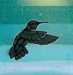 Green Hummingbird by TetraModal