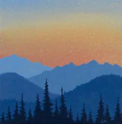 Mountain Sunset by TetraModal