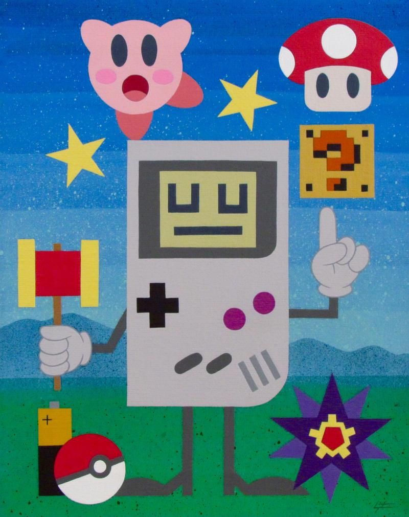 Game Boy by TetraModal
