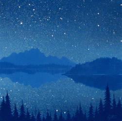 Night Reflection by TetraModal