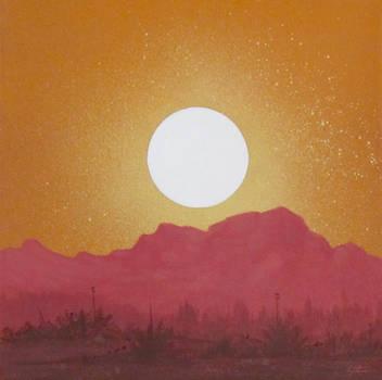 Desert Sunset by TetraModal