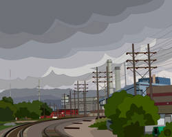 Martin Drake Power Plant by TetraModal