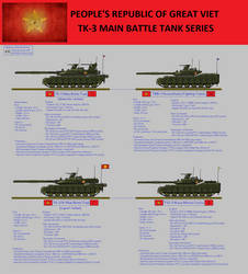 PRGV TK-3 Main Battle Tank series by nhinhonhinho