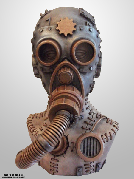 Steampunk Steam Mask 02 by ben9378