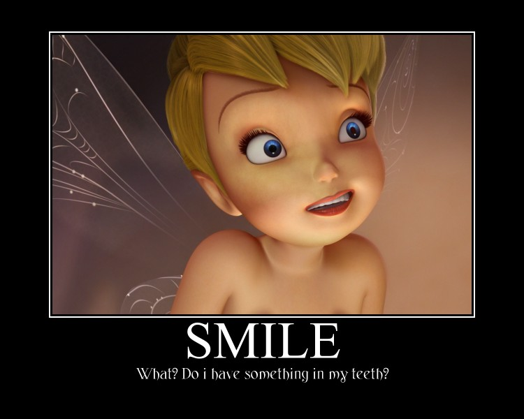 Gallery For gt Tinkerbell Smiling